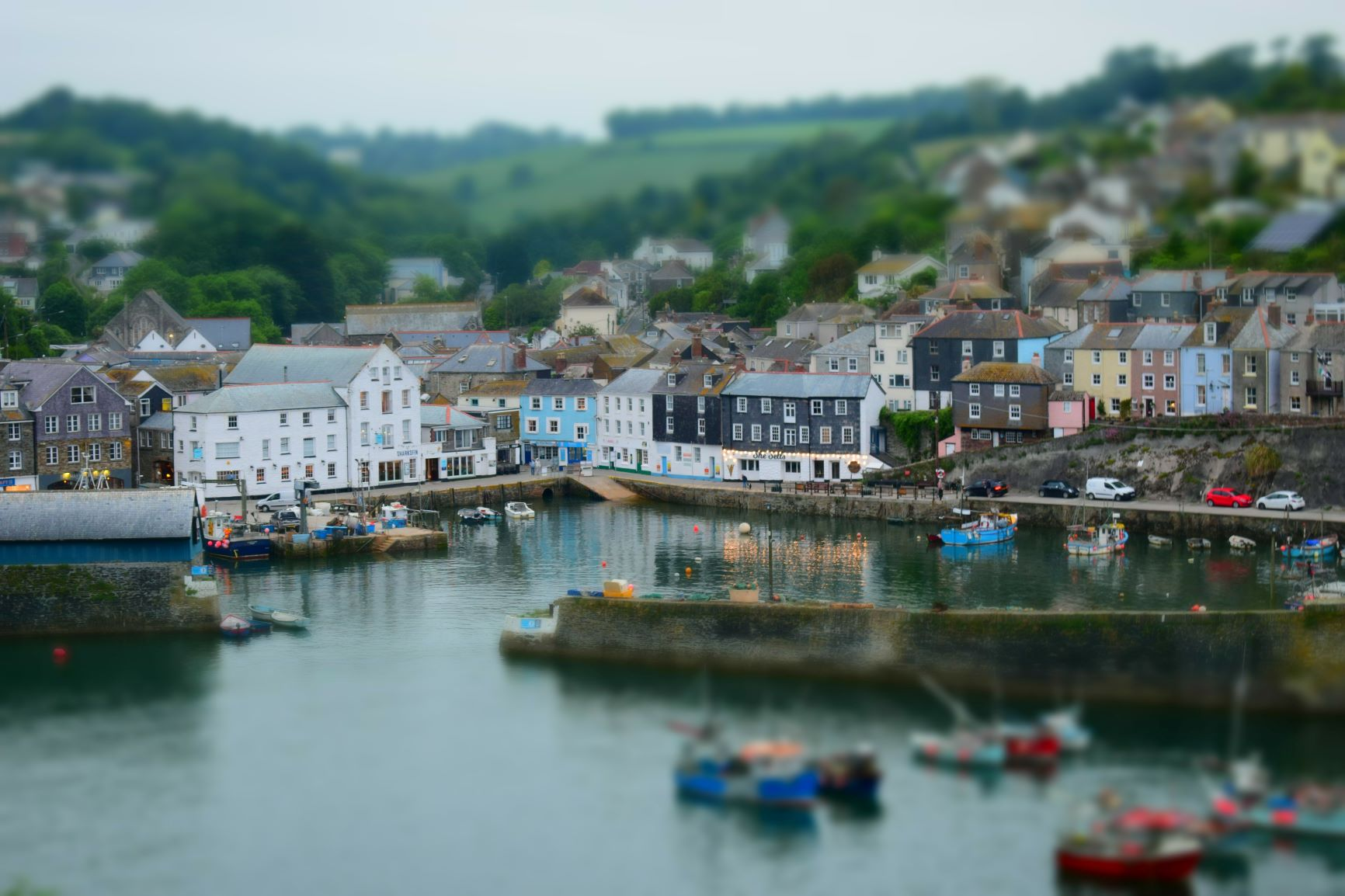 Mevagissey Harbour, Cornwall.