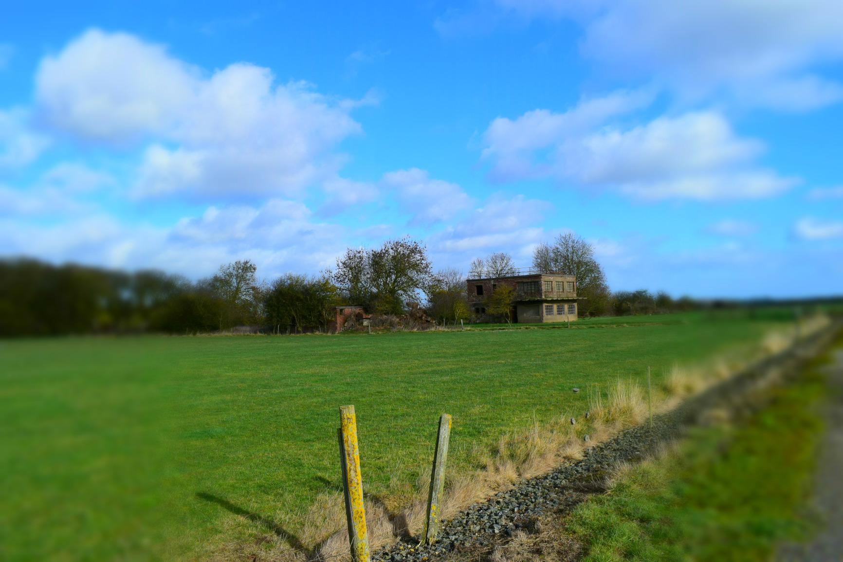RAF Woolfox Lodge control tower, Greetham, Rutland.