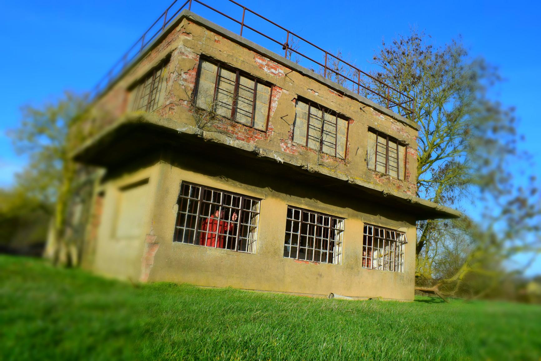 RAF Woolfox Lodge control tower, South Aspect, Greetham, Rutland